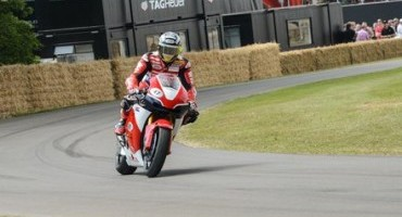 Goodwood Festival of Speed, i campioni Honda portano in pista la Honda RC213V-S