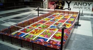 """""""Andy Warhol in the city"""", la mostra organizzata a Napoli, nel Chiostro di Sant'Agostino alla Zecca, dal  13 giugno al 19 luglio 2015"""