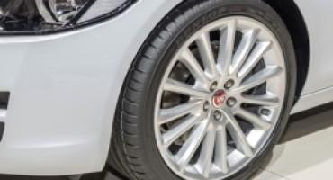 Dunlop, con i suoi pneumatici, vestirà la nuova Jaguar XE