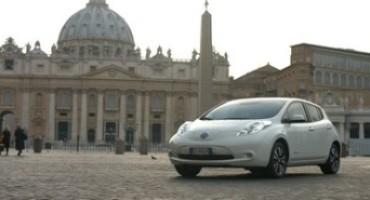 Il viaggio di Nissan LEAF ed e-NV200 attraverso Italia, Spagna, Svezia, Danimarca, Regno Unito e Francia