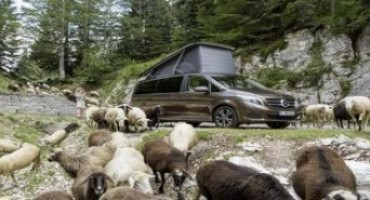 """Al Salone del Camper 2015 Mercedes-Benz presenterà """"Marco Polo"""""""
