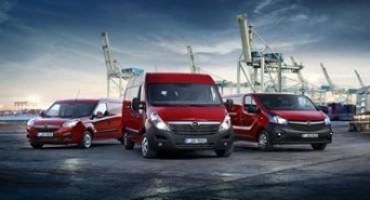 Opel veicoli commerciali: ora ancora più puliti, più efficienti e più comodi