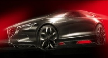 Mazda svela il nuovo concept di crossover a Francoforte 2015