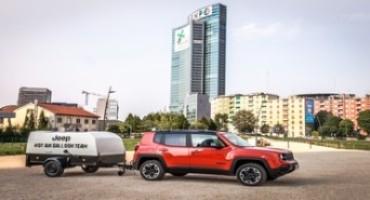 Con Jeep® in mongolfiera nel cielo di Milano