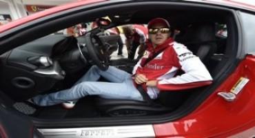 All'Hungaroring Sebastian Vettel fa volare la F12berlinetta