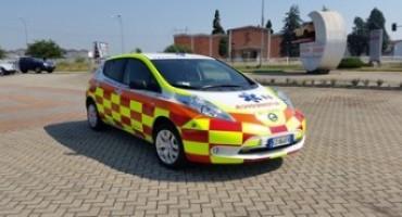 La prima Nissan LEAF 100% elettrica destinata al soccorso medico