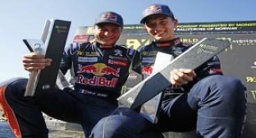 Campionato del Mondo FIA di Rallycross, in Norvegia domina il Team Peugeot con una doppietta