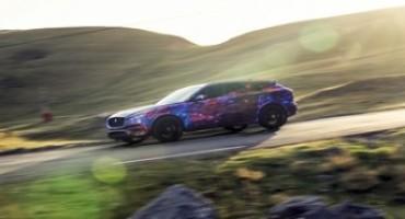 F-Pace, il nuovo crossover di Jaguar, debutterà al Salone di Francoforte 2015