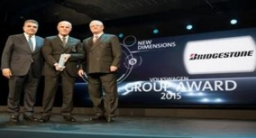 Bridgestone vince il Volkswagen Group Award