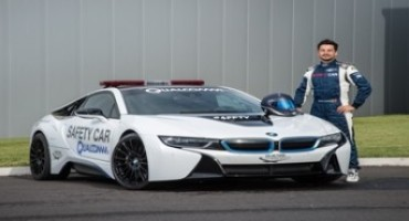 BMW is the Official Vehicle Partner for the 2015/2016 FIA Formula E Championship
