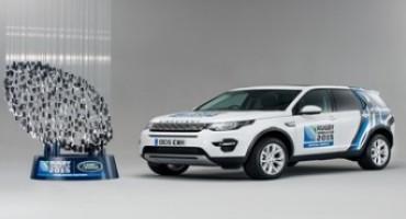 Land Rover è Fornitore Ufficiale dei veicoli per la Coppa del Mondo di Rugby 2015
