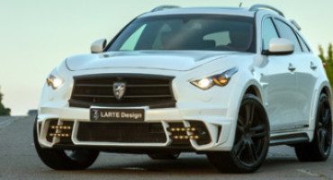 LARTE presents LR3 tuning kit for the Infiniti QX70