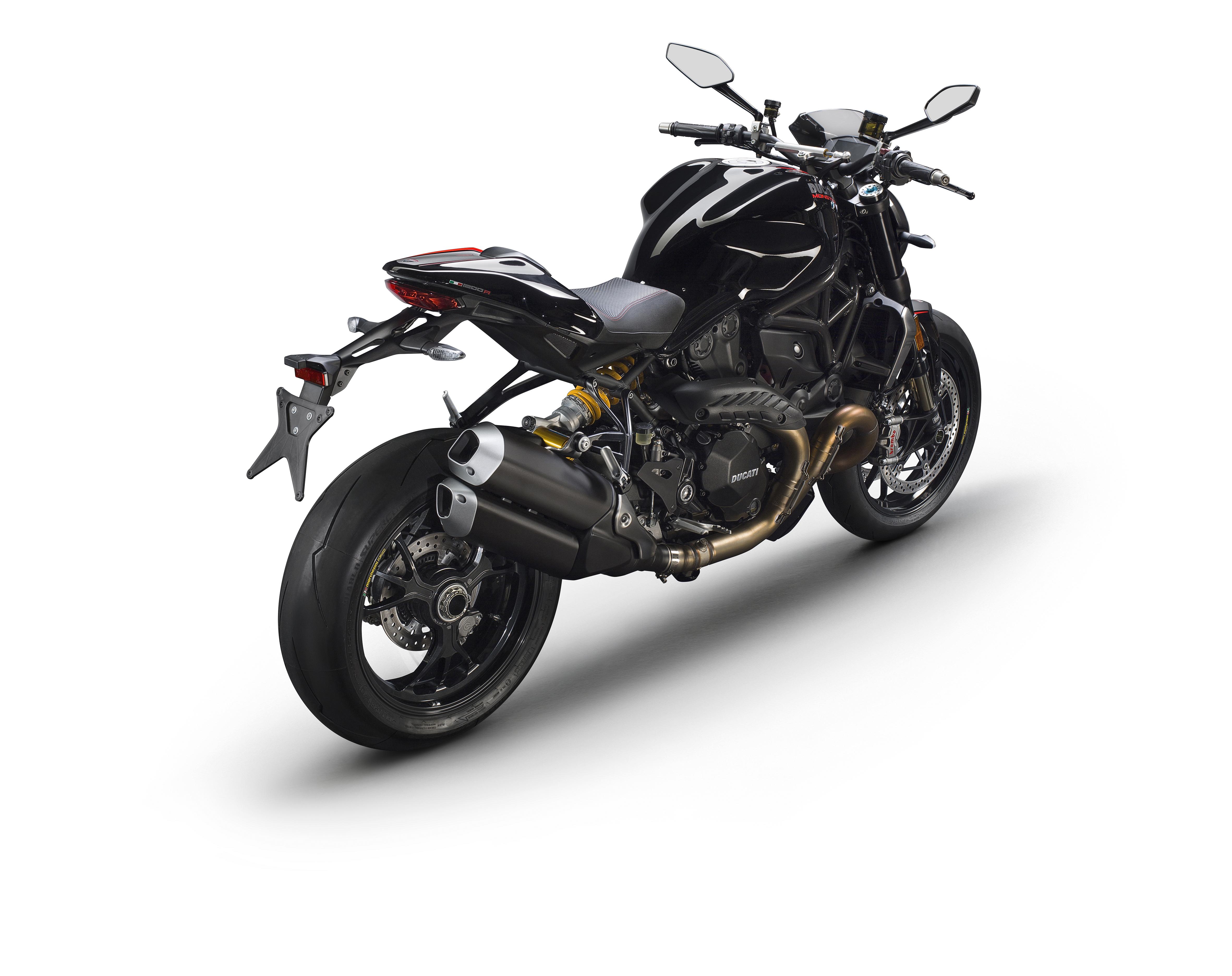 Ducati Monster 1200 S livrea Black on Black - foto - 16/19