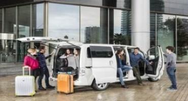 Nissan svela e-NV200 7 posti, sarà in vendita in Italia dal mese di settembre