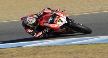 WSBK, a Jerez de la Frontera Chaz Davies, con la Ducati, conquista la quinta vittoria della stagionale