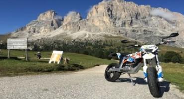 KTM Freeride E: in giro per i passi dolomitici a impatto zero!