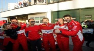 Campionato Italiano Gran Turismo: Malucelli e Gattuso, su Ferrari 458 Italia, sono i vincitori di Gara 1 a Misano