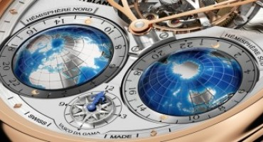Montblanc Tourbillon Cylindrique Geosphères NightSky limited edition