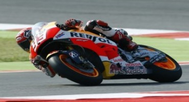 MotoGP 2015, second for Marquez in Misano Qualifying with Pedrosa fourth