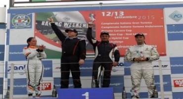 Campionato Italiano Turismo Endurance, Vallelunga: Valentina Albanese retrocessa per un contatto, la vittoria in Gara 1 è di Valli-Montalbano