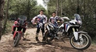 Marquez e Barreda mostrano di cosa è capace la nuova CRF1000L Africa Twin