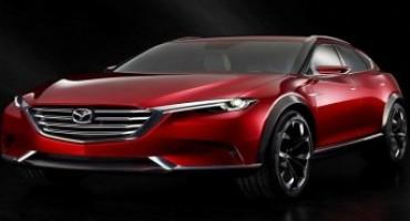 Mazda presenta KOERU, nuovo concept di crossover SUV, al Salone di Francoforte 2015