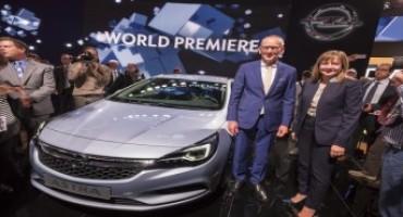 Al Salone di Francoforte 2015, la nuova Opel Astra raccoglie già 30.000 ordini