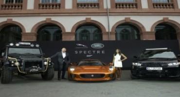 """Al Salone di Francoforte 2015 gli stunt-vehicle di """"Spectre"""", la nuova avventura di James Bond"""
