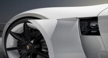 """Al Salone dell'Auto di Francoforte 2015, Porsche presenta: """"Mission E"""", una concept elettrica da 600 CV e 500 km di un'autonomia"""