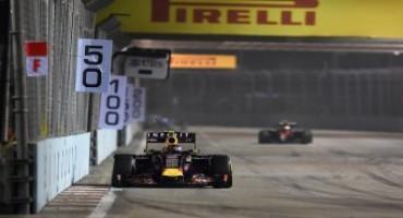 Pirelli – Formula1 – Gran Premio di Singapore 2015: le prove libere