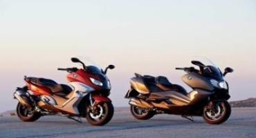 BMW Motorrad presenta i nuovi C 650 Sport e C 650 GT: dinamici maxi-scooter per lo sport ed il turismo
