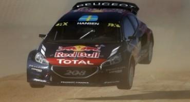 Campionato del Mondo Rallycross: positiva la tappa Spagnola per il Team Peugeot Hansen