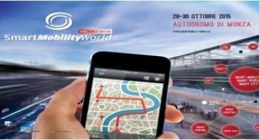 Smart Mobility World, 12esima edizione: all'Autodromo Nazionale Monza dal 28 al 30 ottobre