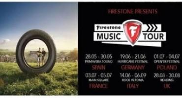 """Firestone, successo ed entusiasmo per le date italiane del """"Firestone Music Tour"""""""