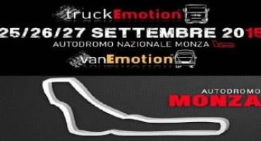 truckEmotion e vanEmotion: nella quarta edizione (25-27 settembre) si parlerà anche di movimentazione e trasporto dei farmaci