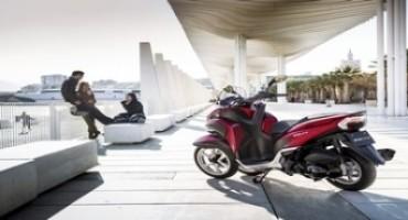 Yamaha Tricity protagonista a Campovolo con la Rockstar Ligabue