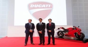 Ducati Motor Holding: dal 1° gennaio 2016 sarà operativa la nuova business unit di Ducati Cina