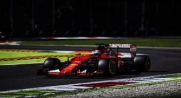 Formula 1, Monza : nella terza sessione di libere Vettel fa segnare il secondo tempo, Raikkonen è settimo