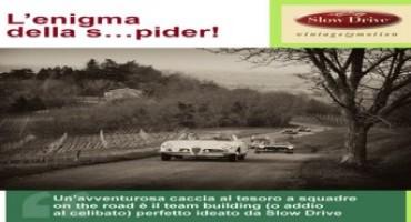 """Slow Drive promuove """"Enigma Vintage Tour"""": la caccia al tesoro on the road"""