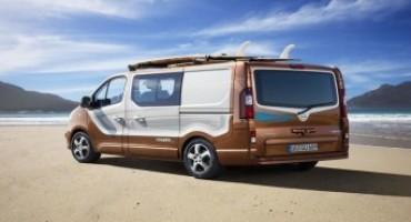 Opel Vivaro, a Francoforte l'anteprima mondiale della versione per il tempo libero