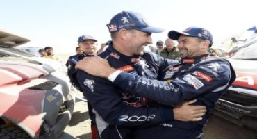 Team Peugeot Total – China Silk Road rally: le 2008 DKR sui primi due gradini del podio