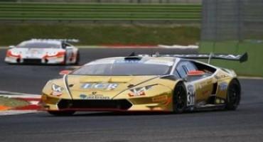 Campionato Italiano Gran Turismo, le Lamborghini dominano le prime due gare a Vellelunga nelle classi GT3 e GT Cup