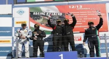 Coppa Lamborghini Huracan, Vallelunga: con la vittoria in Gara1, Roberto Tanca e Adrian Zaugg (Raton Racing) sono a un passo dal tricolore