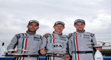 Carrera Cup Italia, Vallelunga: in Gara 2, vince il giovanissimo Mattia Drudi (Dinamic Motorsport – Centro Porsche Bologna)