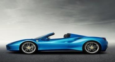 La nuova Ferrari 488 Spider debutta al Salone di Francoforte 2015