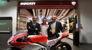 """Presentato il nuovo flagship store Ducati presso l'Area Imbarchi dell'aeroporto """"Guglielmo Marconi"""""""