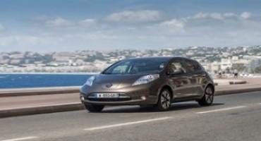 Nissan lancia la nuova LEAF: fino a 250 Km di autonomia per il Model Year 2016