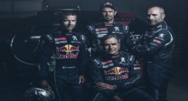 Team Peugeot Total presenta il nuovo Dream Team per la Dakar 2016…c'è anche Loeb!
