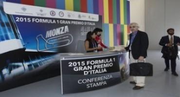 Formula 1, Gran Premio d'Italia 2015, Monza : la conferenza stampa