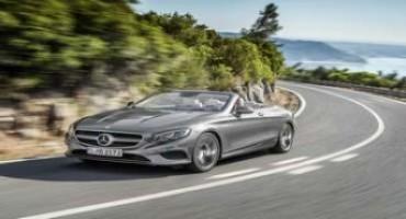 Mercedes-Benz presenta la nuova Classe S Cabrio